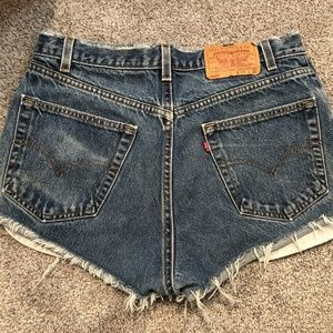 LEVI'S 505 DENIM SHORTS FROM URBAN OUTFITTERS